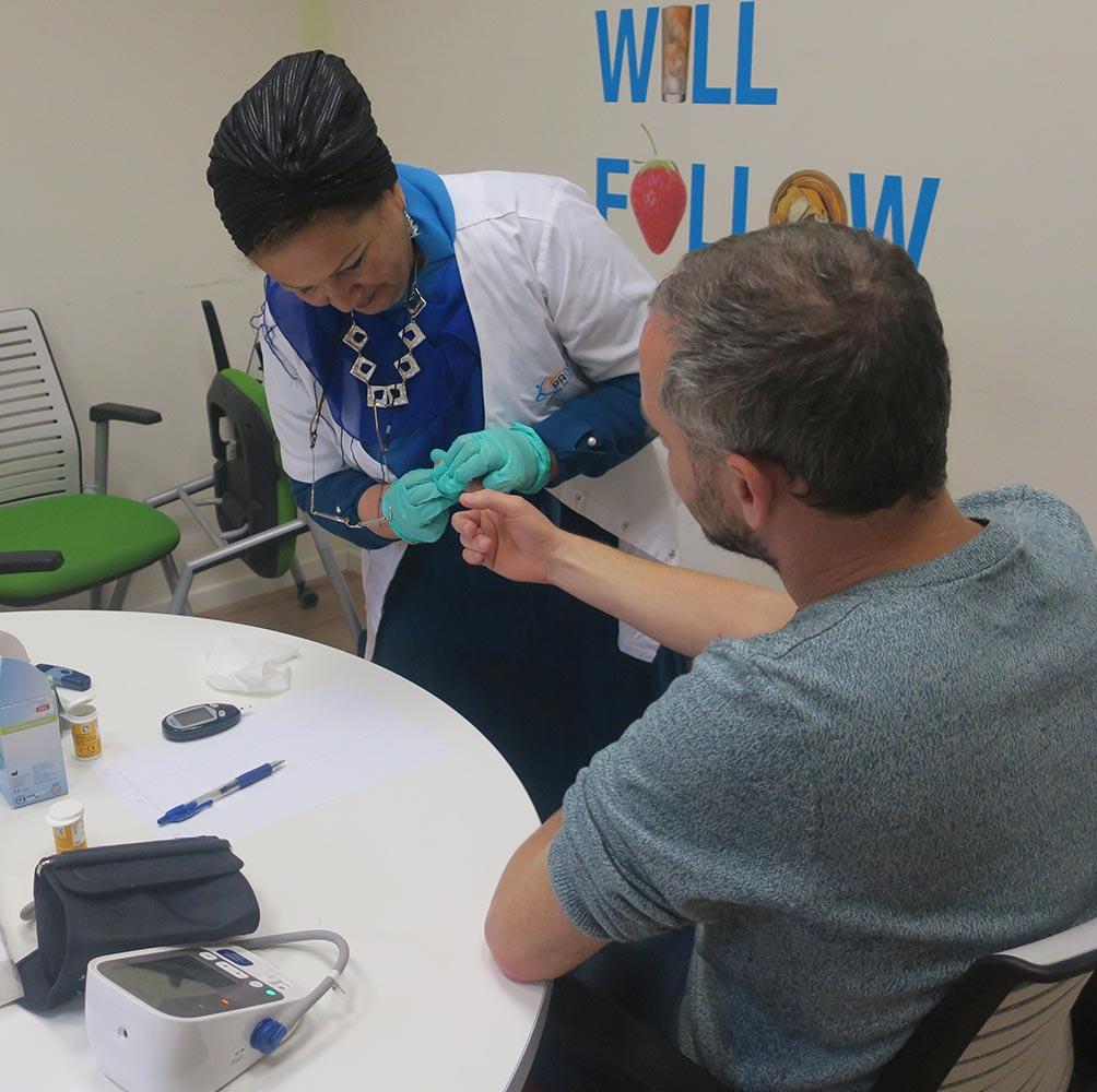 בדיקות דם לעובדים